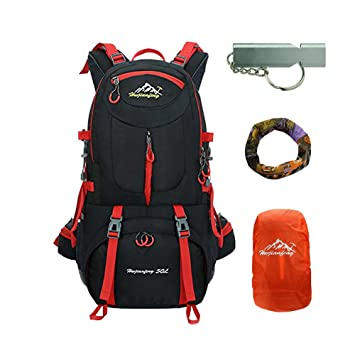 585dd177d1 caxece 40L   50L   60L Mountaineering Backpack Outdoor Lightweight Bicycle  Backpack Climbing Hiking Backpack Travel Sports Daypack Camping Trekking  Backpack ...
