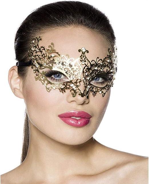 Máscara Gótica Estilo Mujer Sexy Lady of Luck