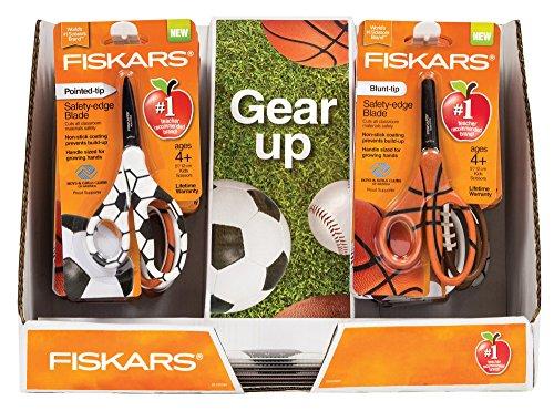 Fiskars 5 Inch Mvp Non-Stick 16 Count Kids Scissor, 16 Scissors and 12 Rulers
