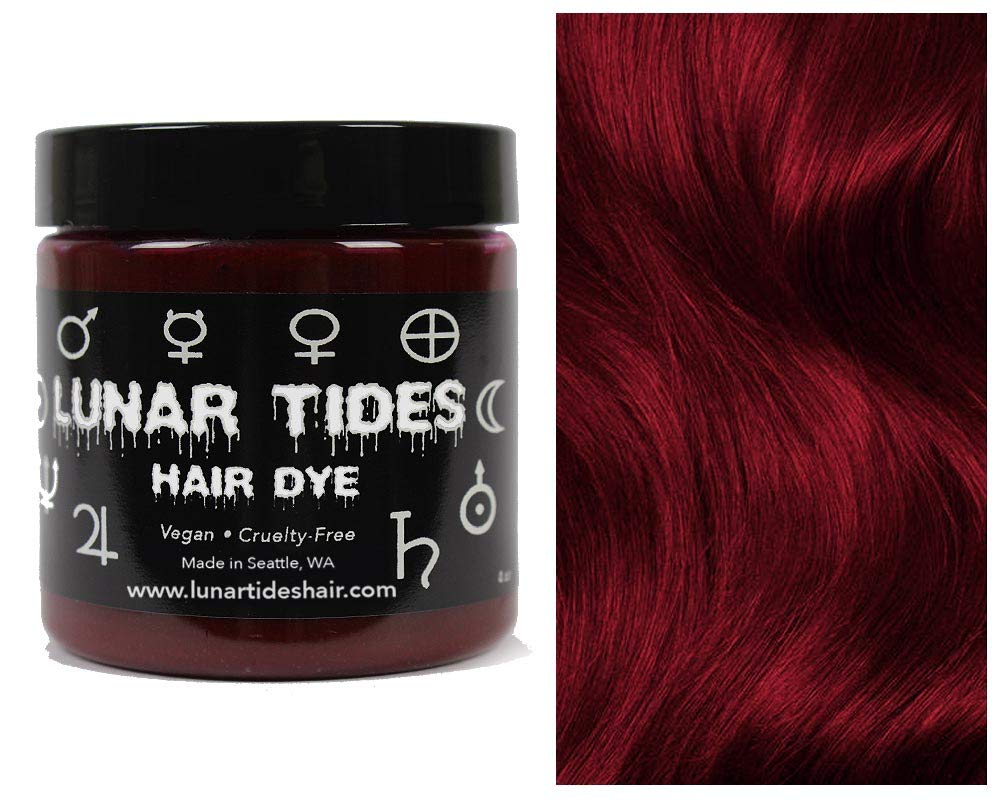 Blood Moon, semi permanent hair dye red - 118 ml - Lunar Tides
