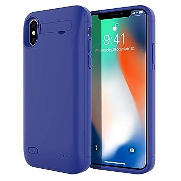 KALLOWLY Funda Bateria para iPhone X/iPhone XS ...