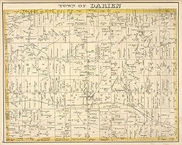 Amazon|1876年の歴史地図 @@@@@@@@@ ジェネシー郡 (N.Y ...