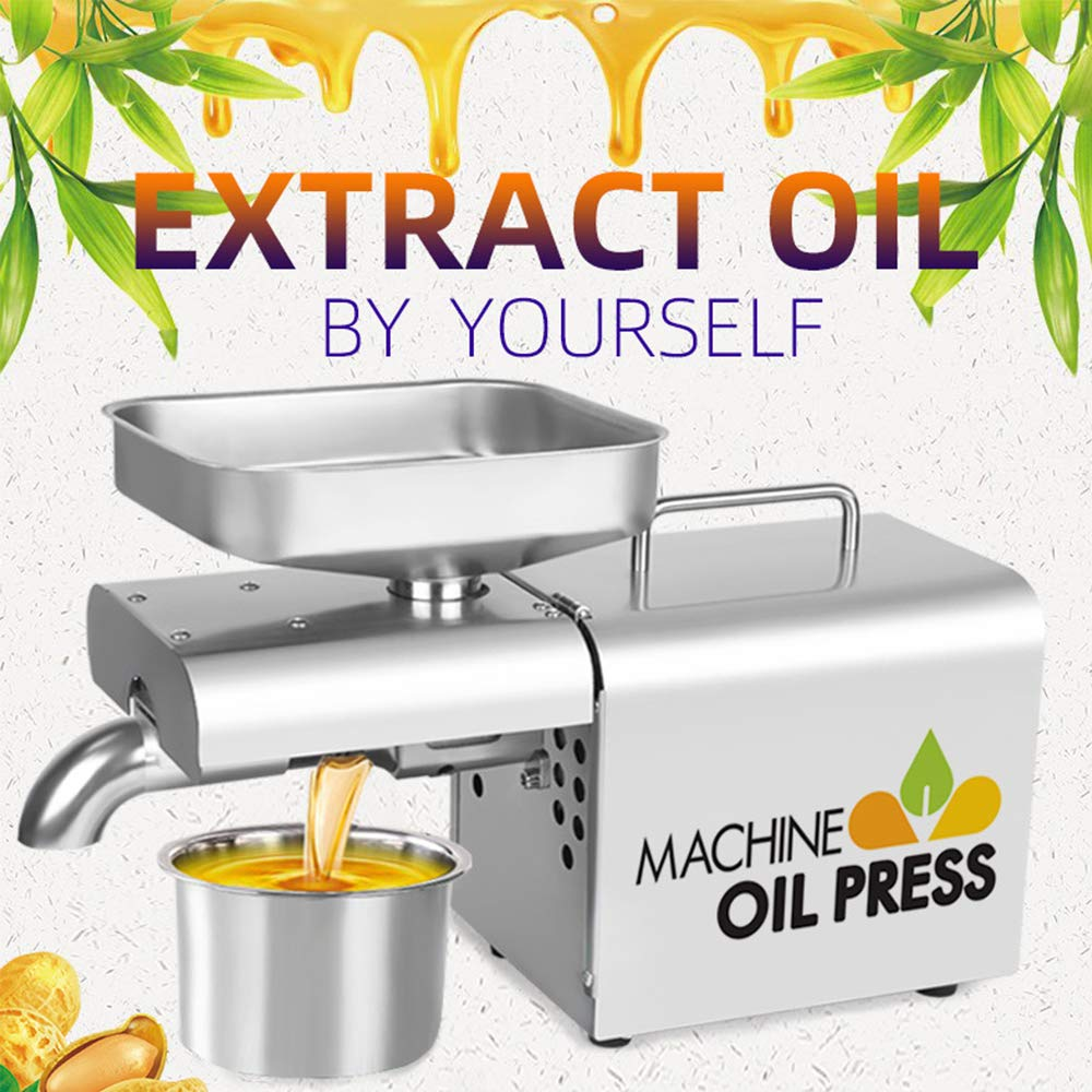 alpha-grp.co.jp 800W Cold/Hot Press Automatic Oil Extractor for ...