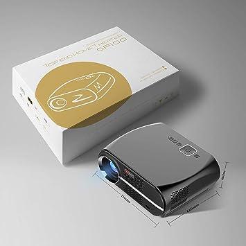 IG Mini proyector de 3200 lúmenes - El proyector LED Full HD es ...