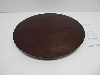 """Dark Cherry Lazy Susan By Crown Mark 22/"""" Diameter"""