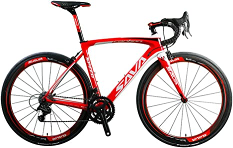 SAVADECK Herd 9.0 700C Bicicleta de Carretera con Bici de Fibra ...