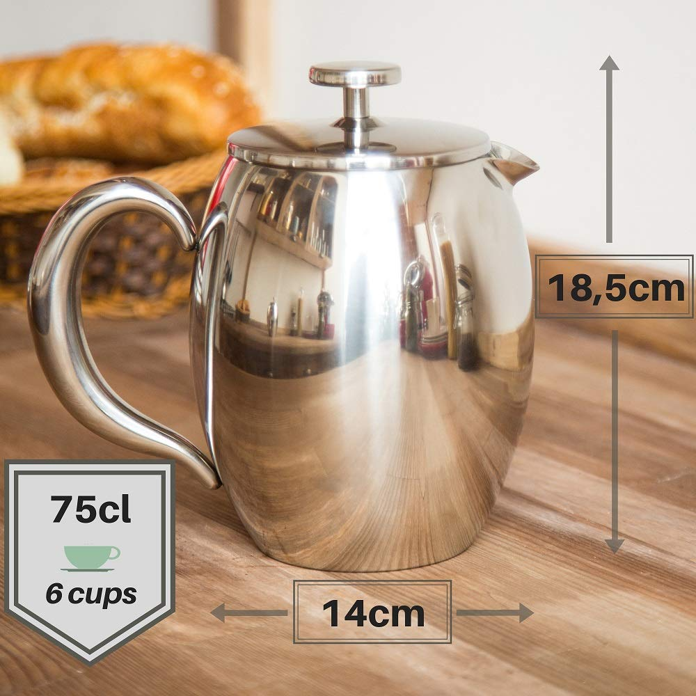 gaixample.org Cafetiere French Press Coffee Maker by VeoHome 0.75 ...