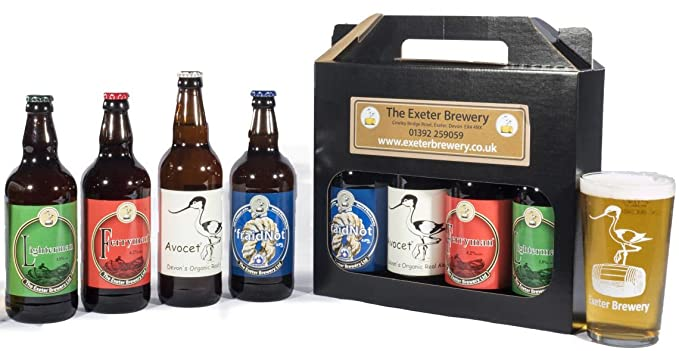 Exeter Brewery Gift Set - Standard Box  sc 1 st  Amazon UK & Exeter Brewery Gift Set - Standard Box: Amazon.co.uk: Beer Wine ...