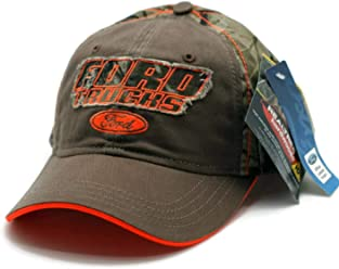 29133ff971f Hat - Ford Trucks Real Tree Camouflage   Orange Embroidered Ball Cap