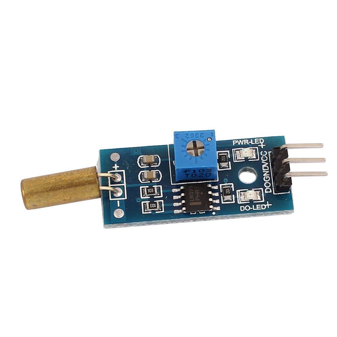 Amazon.com: eDealMax inclinación Medición de ángulo del módulo de conmutador Sensor 3.3-5V DC Detector DE 3 hilos Para Arduino: Industrial & Scientific