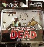 The Walking Dead Comic Book Minimates Series 7 Ezekiel and Mauled Zombie Exclusive Minifigure 2-Pack