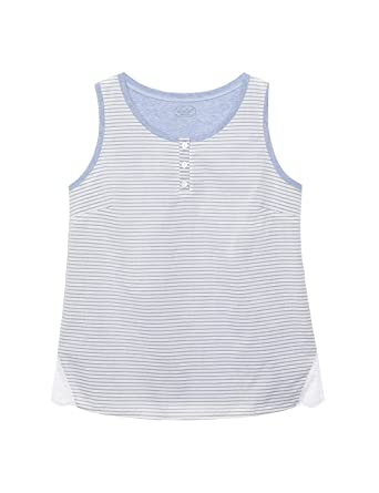 60a32620f902 Intimissimi Womens Cotton Stripes Supima® Cotton Vest Top: Amazon.co.uk:  Clothing