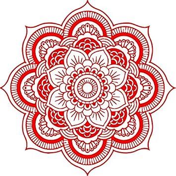 Mandalas Pegatinas de Pared Hogar Dormitorio India Mandala