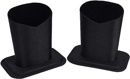 Baitaihem Eyeglasses Holder Stand Protective Glasses Holder For Desks Or Nightstands Pack of 2 (Black)