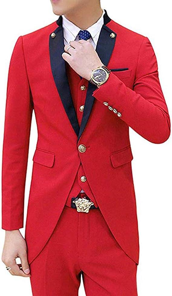 Amazon.com: NewStyle - Chaqueta de traje para hombre, 3 ...
