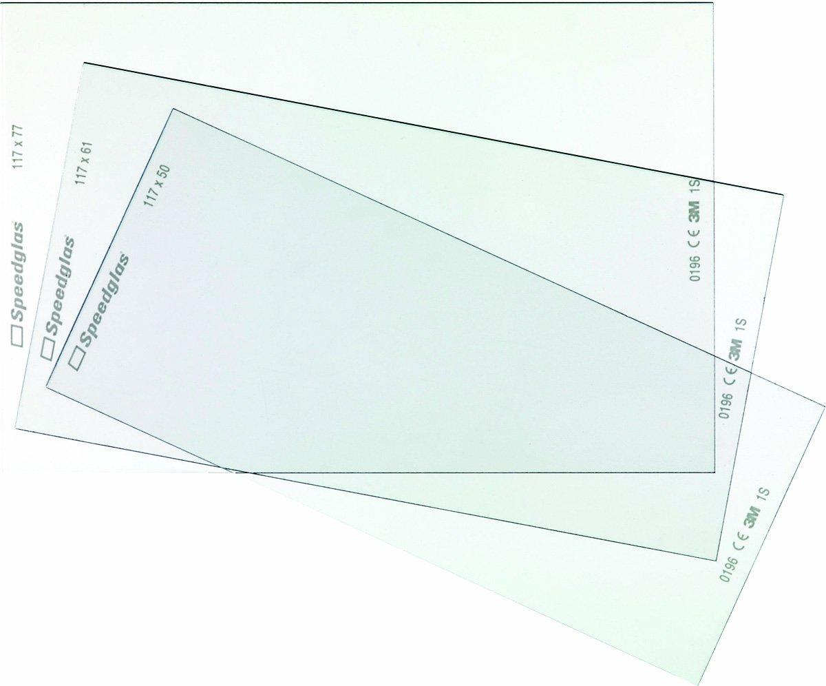 3M Vorsatzscheibe innen Speedglas 100/9000 / SL 428000 Vorsatzscheiben 123054