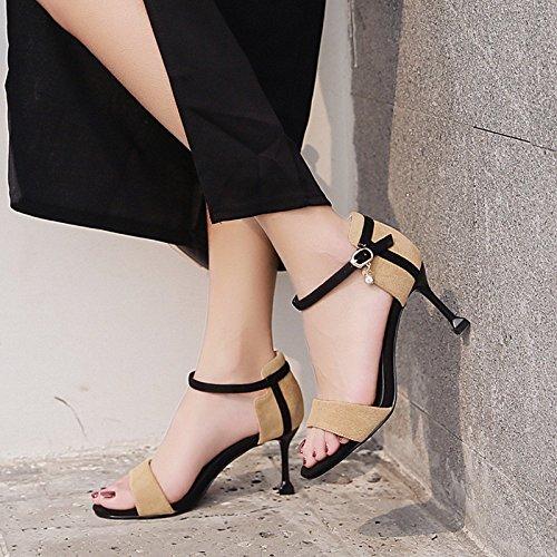 Verano 1Color Buenas Surtidos Sandalias con Tacón de con Alto de yalanshop Abiertas Colores Zapatos xpIRwOOd