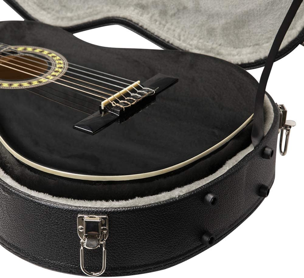 Stagg GEC-C - Estuche para guitarra clásica, color negro: Amazon ...