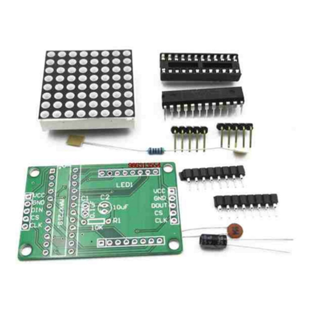 8x8 Dot Matrix Led Display Module With Max7219 Chip The Rgb Project Application Circuit Driver Kit For Microcontroller Projects From Optimus Electric Electronics