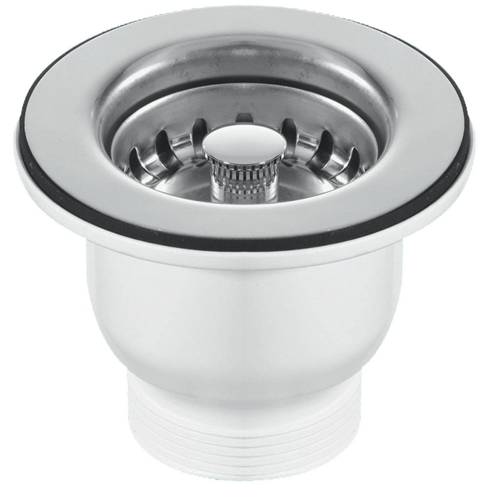 Mcalpine 85mm Chrome Belfast Sink Basket Strainer