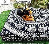 GANESHAM Indian Seating Dog Bed Boho Floor Pillow