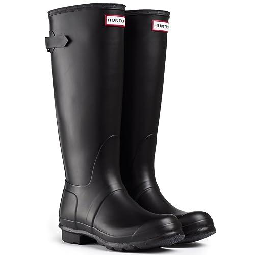 Hunter Original Back Adjustable W24893-NAVY - Botas para Mujer: Hunter: Amazon.es: Zapatos y complementos