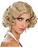 Rubies Costumes Women's Flapper Wig Adult (Blonde)