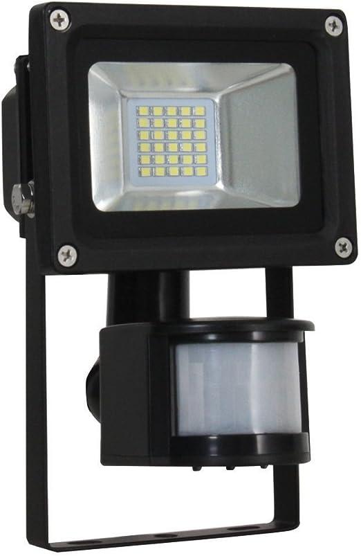 30W 50W Outdoor LED Security Floodlights PIR Motion Sensor Flood Light Slimline
