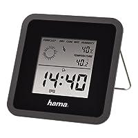 Hama Thermomètre/hygromètre TH50, Noir
