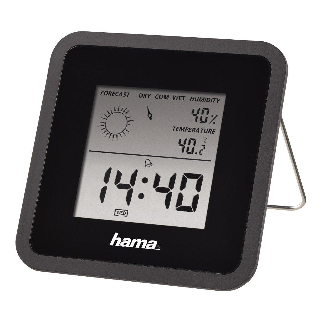 Hama Thermo/ Hygrometer, Black
