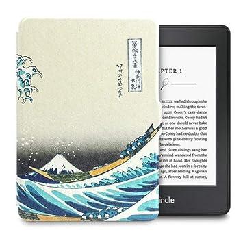 DATOUDATOU para Kindle Paperwhite Caso Super Slim Auto Dormir ...