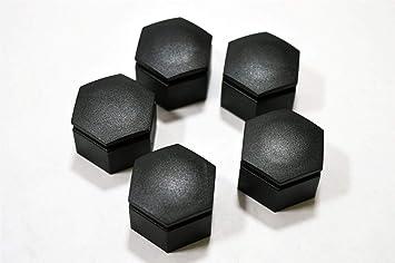 LSC 13235283 - Juego de 5 tapacubos de aleación para tapones de tuercas: Amazon.es: Coche y moto