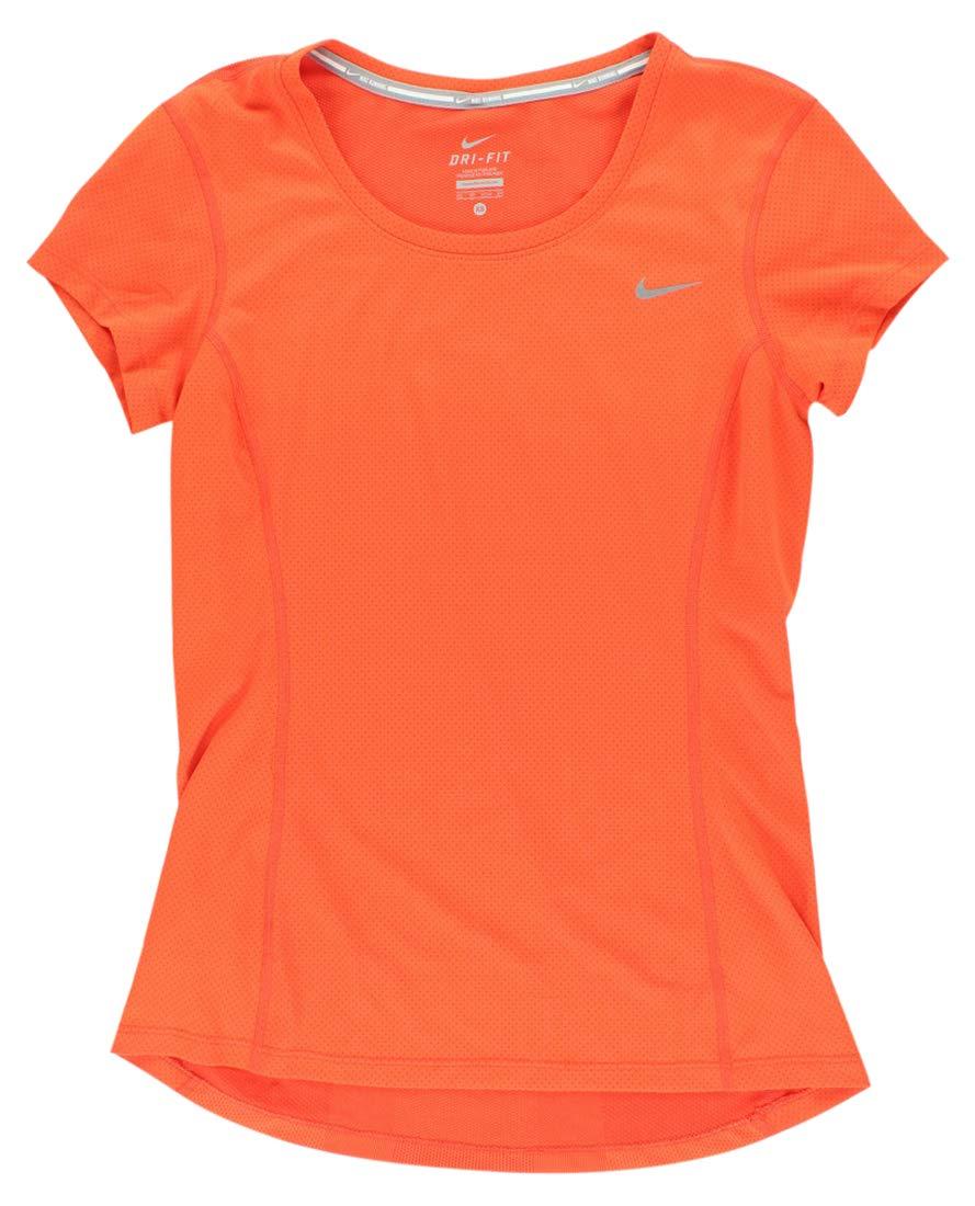 best service c7f59 35868 Nike t-Shirt à Manches Courtes pour Femme dri-fit Contour  Amazon.fr   Chaussures et Sacs