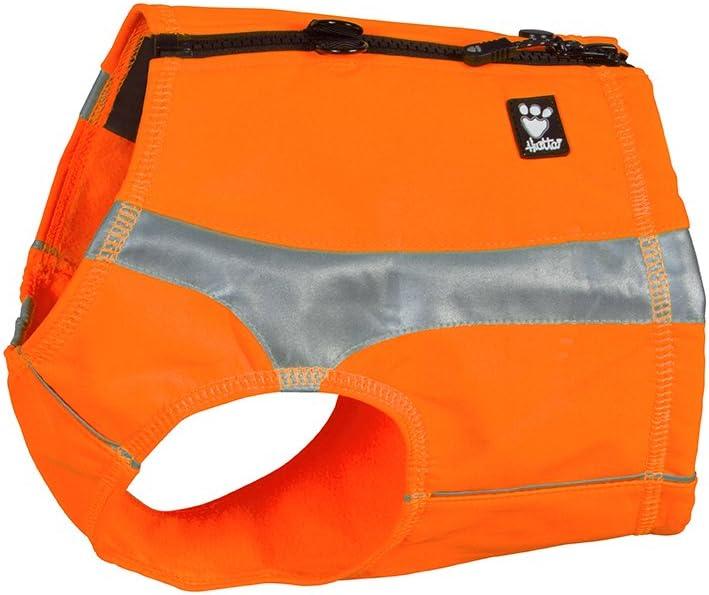 XS Orange Hurtta Polar Visibility Dog Vest