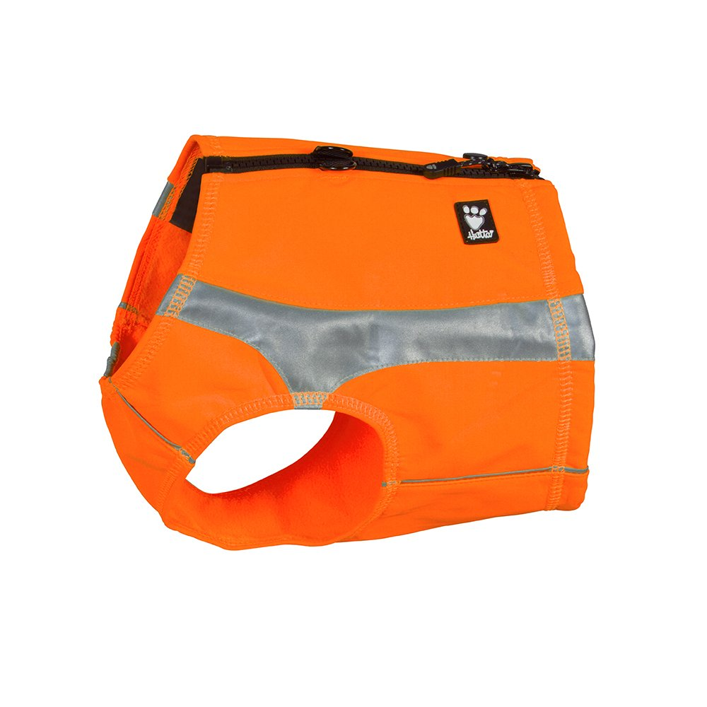 Hurtta Polar Visibility Dog Vest, Orange, L by Hurtta