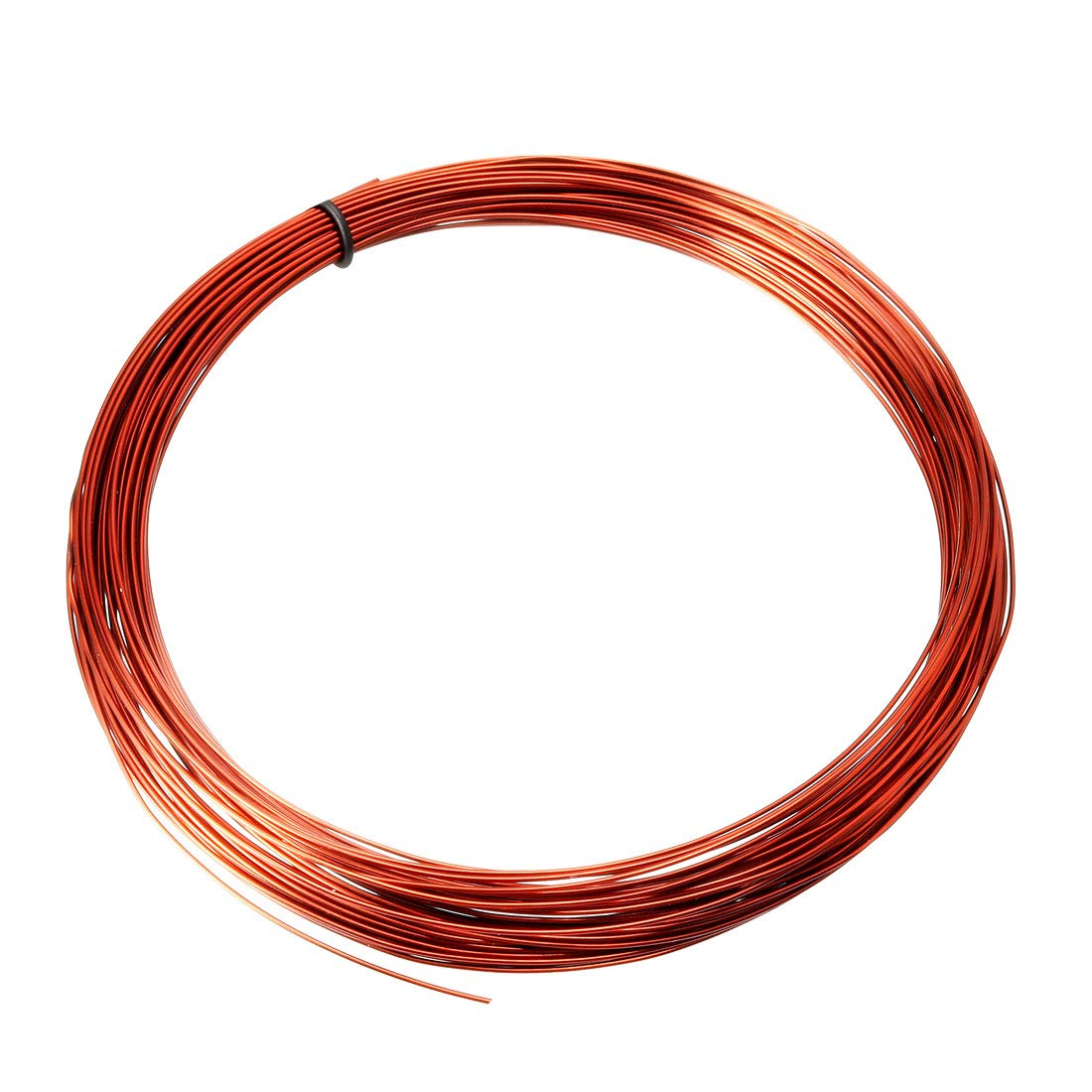 sourcing map 0.67mm Dia Magnet Wire Enameled Copper Wire Winding Coil 49.2' Length Widely Used for Transformers Inductors