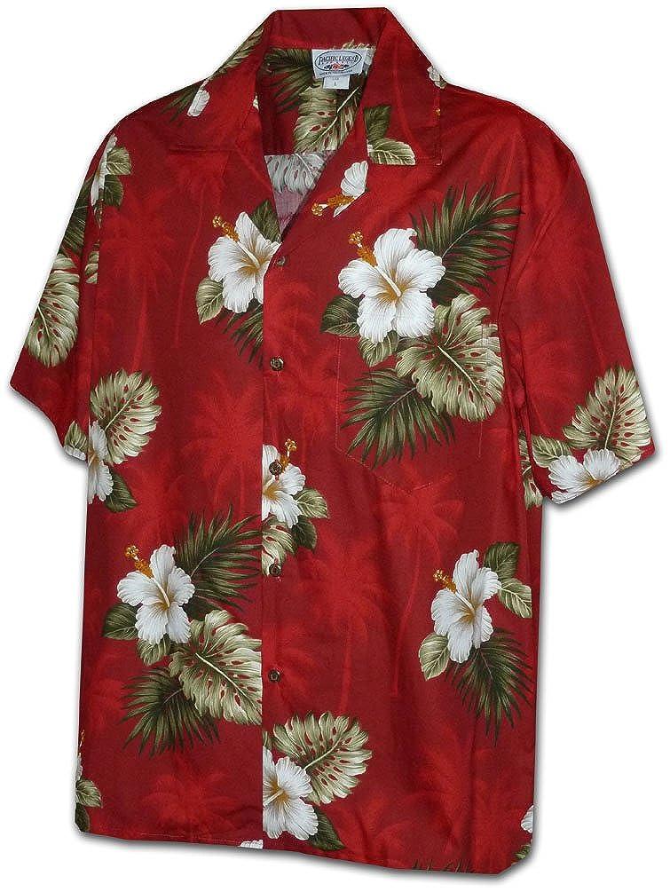7f982e3b Amazon.com: Hibiscus Island Boy Hawaiian Aloha Shirts: Clothing