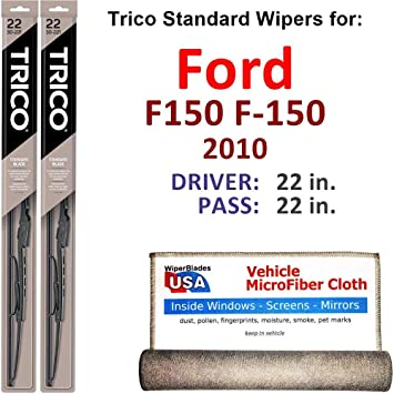 how to wire in a 7 blade ford f150 2010 amazon com wiper blades for 2010 ford f150 f 150 driver  wiper blades for 2010 ford f150 f 150