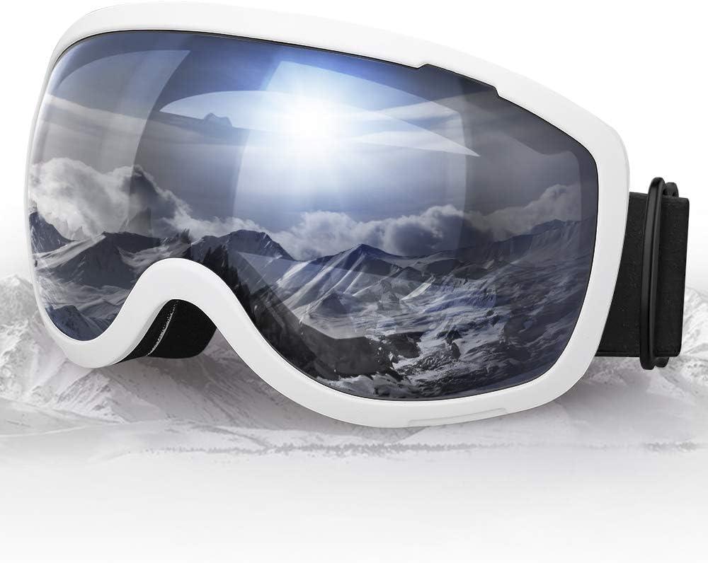 Ski Goggles Snowboard Goggles with UV Protection and Windproof Transparent Unigear Anti Glare Anti Glare