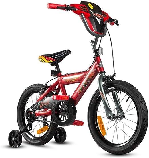 LJFYMX Bicicleta Bicicleta de Rueda de 12 Pulgadas de Sonic Kids ...