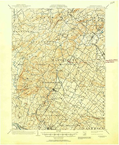 YellowMaps Boyertown PA topo map, 1:62500 Scale, 15 X 15 Minute, Historical, 1902, Updated 1951, 20.9 x 17 in - Paper (Maple Rock Grove Red)