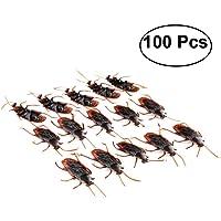 Tinksky Fake Roach Prank novedad de cucarachas plásticas