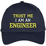 trust me im engineer - Trendy Apparel Shop Trust Me I'm An Engineer Embroidered Twill Baseball Cap - Navy