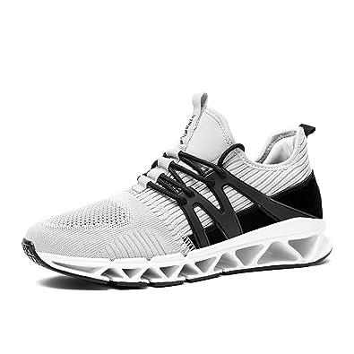 cc7ed648bb5f2a Homme Chaussure Basket pour Sport Loisir Mesh Maille Respirant Chaussure  Paresseux Sneakers Chaussons Confortable Léger Moderne