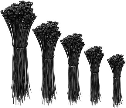100 Stk Profi Kabelbinder Kabel Binder 2,5 x 100 mm 10cm schwarz