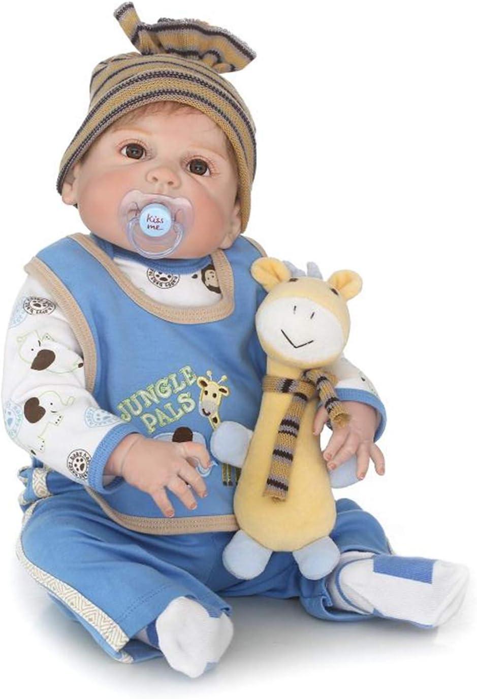 Zero Pam Binxing Toys Reborn Twins Dolls Boy/&Girl Preemie Silicone Babies Newborn Dolls 18 inch Soft Handmade Real Life Reborn Baby Dolls for Twins