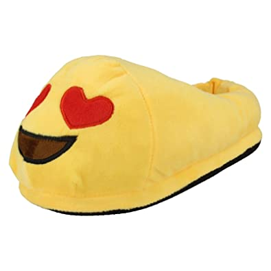 Ladies Spot On Slippers 'Emoji Slipper'