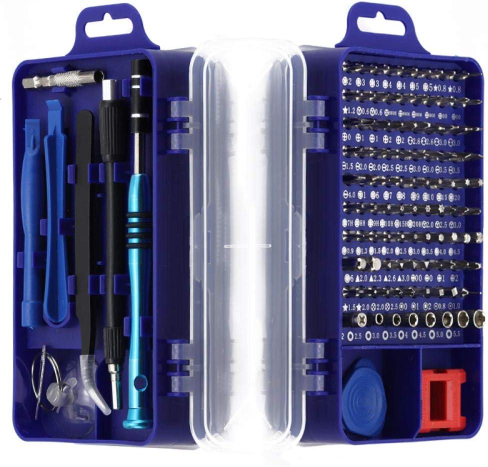 110/25 In1 Precision Screwdriver Magnetic Screwdriver Bit Set Torx Multi Repair Hand Tool Screwdriver for Phone Tablet PC Red 110 in 1 Red 110 in 1