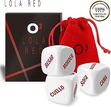 Lola Red Dados Pareja – Set de 3 | Incluyen E-Book con Más Ideas ❤️❤️❤️ - Despiertan Vuestra Imaginación: Amazon.es: Juguetes y juegos