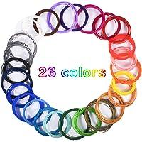 Dioxide Filamento de pluma 3D, 26 Colores Impresora